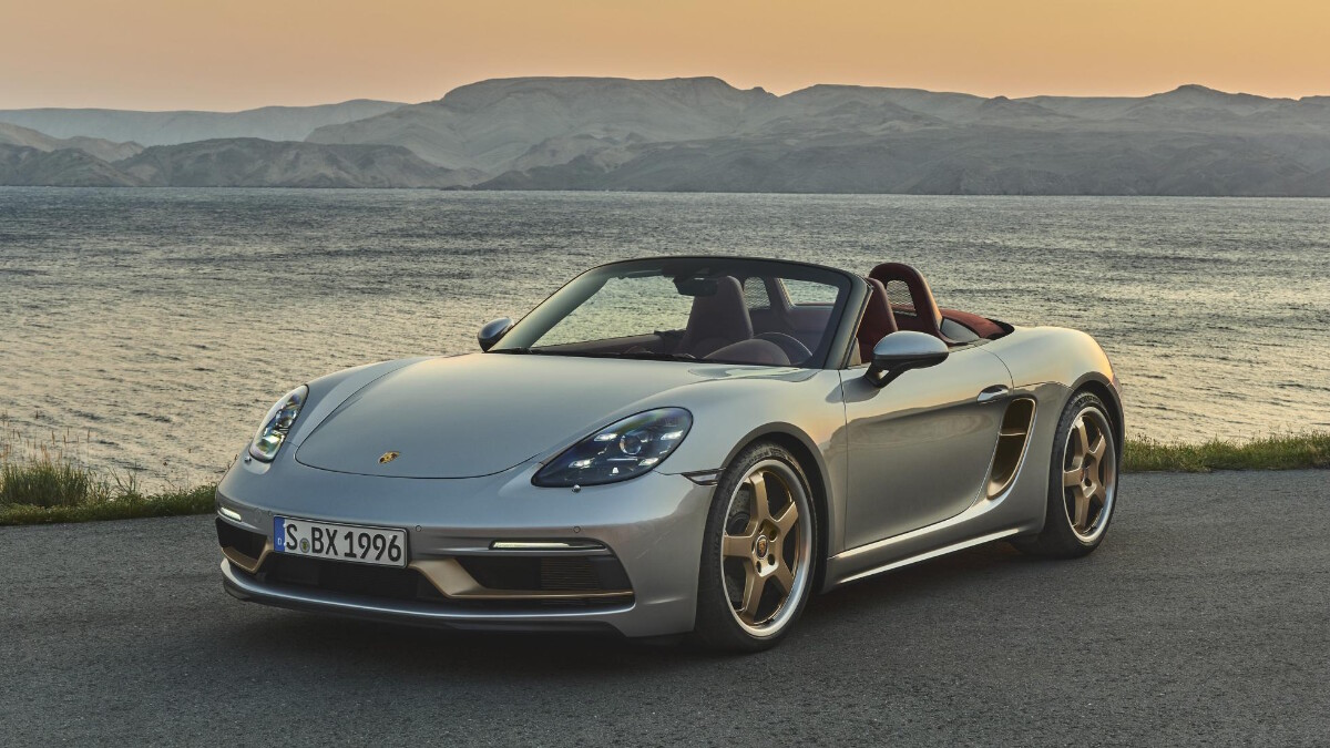The Porsche Boxster 25 Years