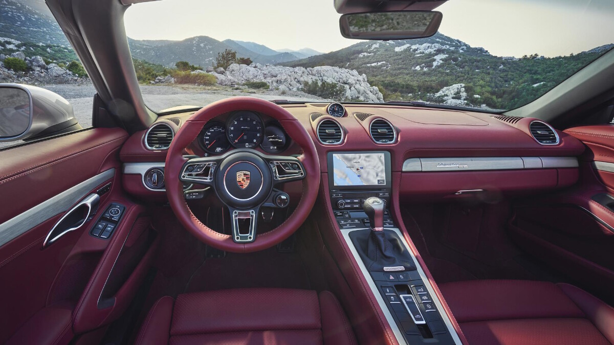 The Porsche Boxster 25 Years - Interior