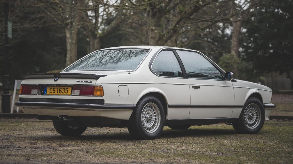 1986 BMW 635 CSi - Rear Feature