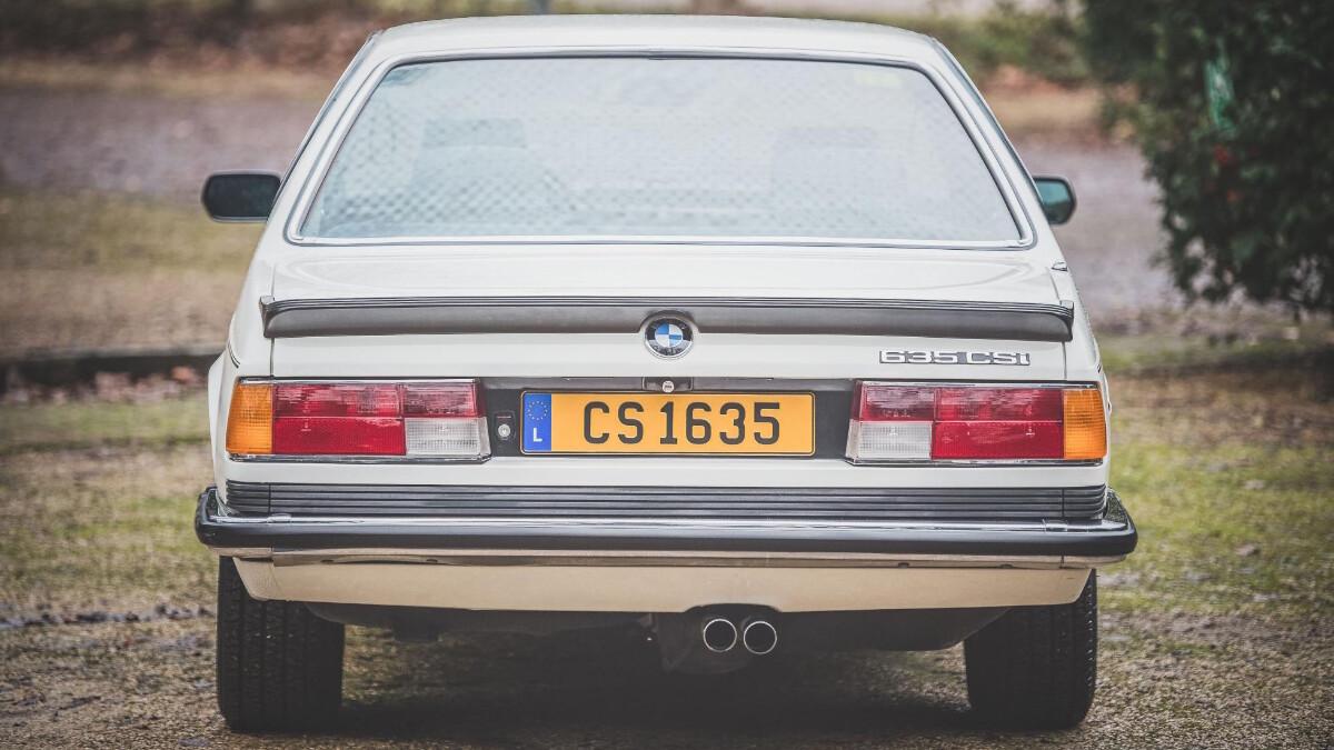 1986 BMW 635 CSi - Rear