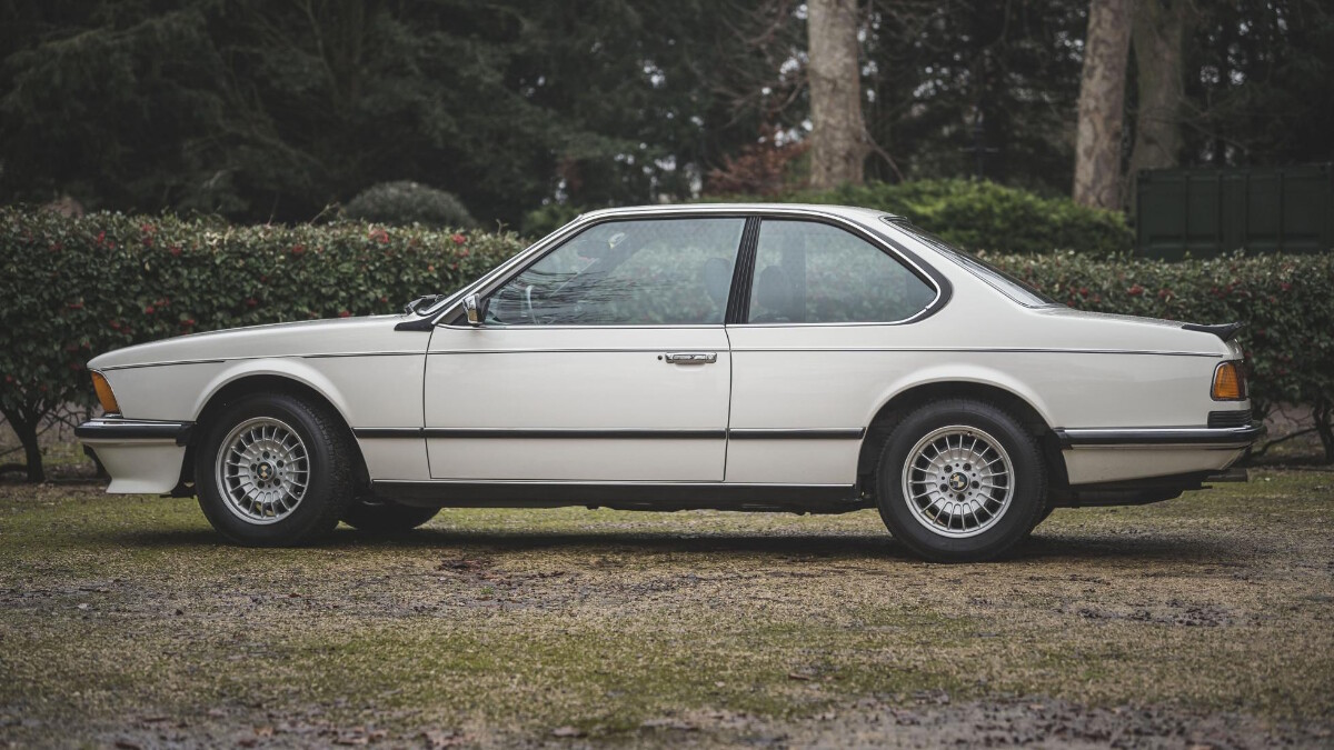 1986 BMW 635 CSi - Side Profile