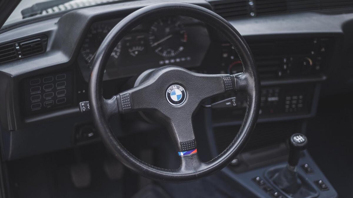 1986 BMW 635 CSi - Driving Wheel