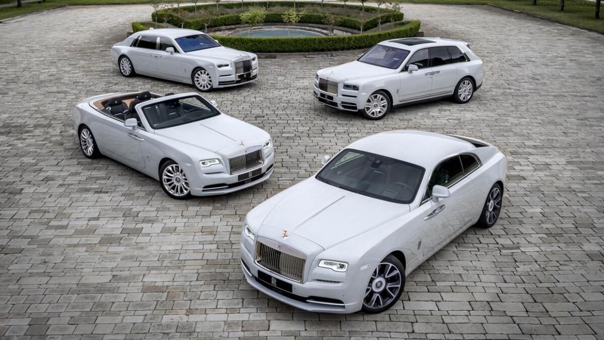 Rolls-Royce Dusk in Tokyo