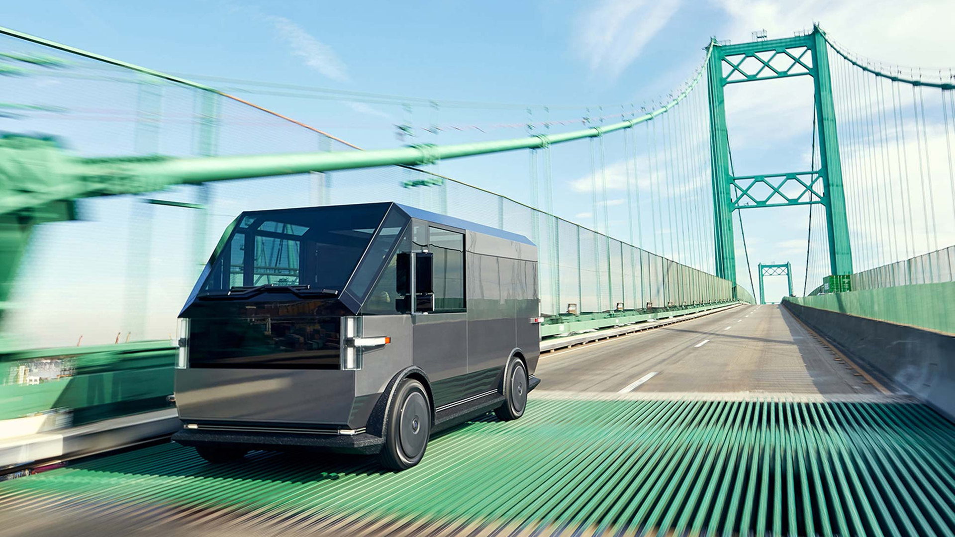 The Canoo multi-purpose delivery vehicle (MPDV) - On The Road