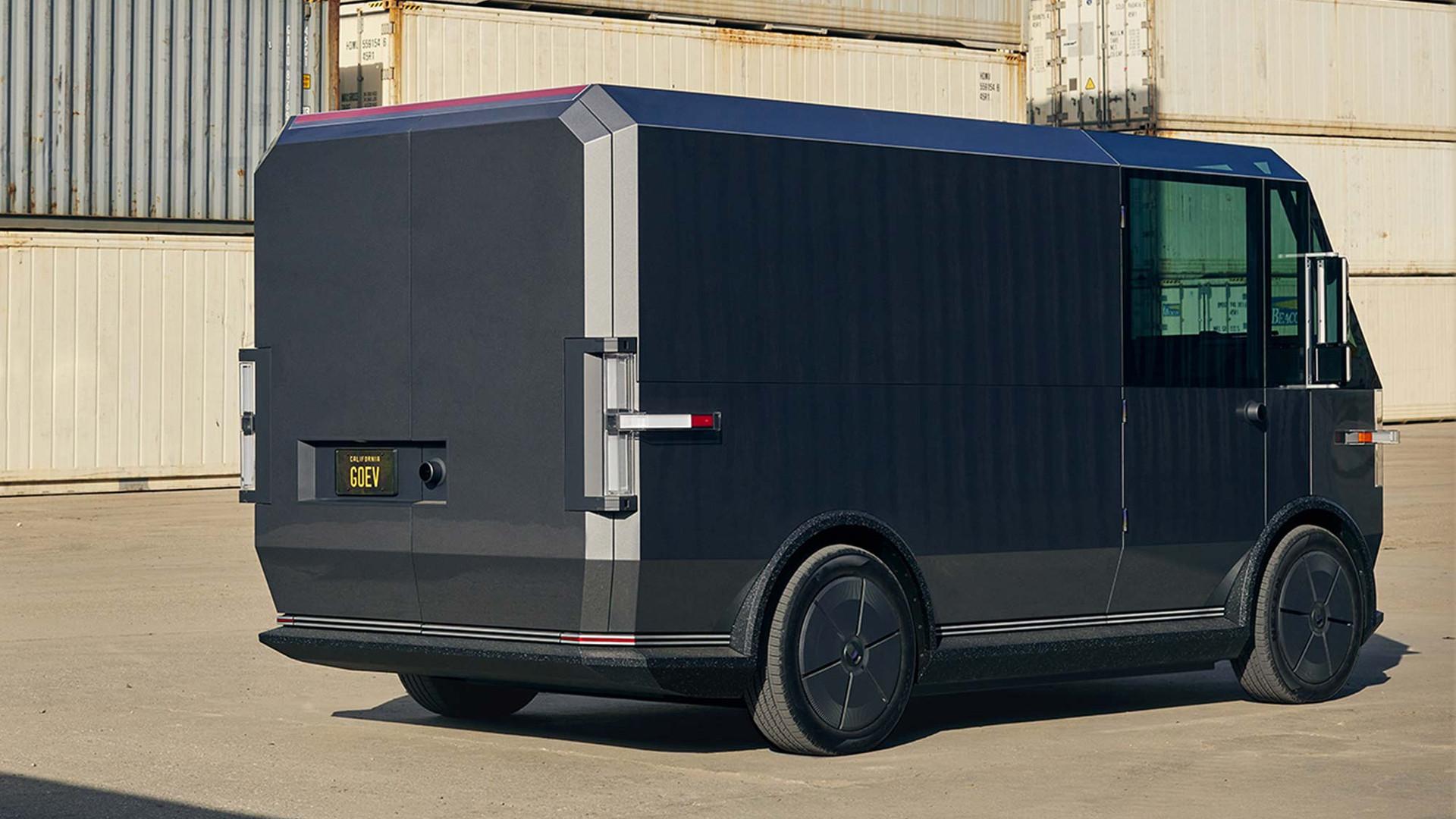 The Canoo multi-purpose delivery vehicle (MPDV)