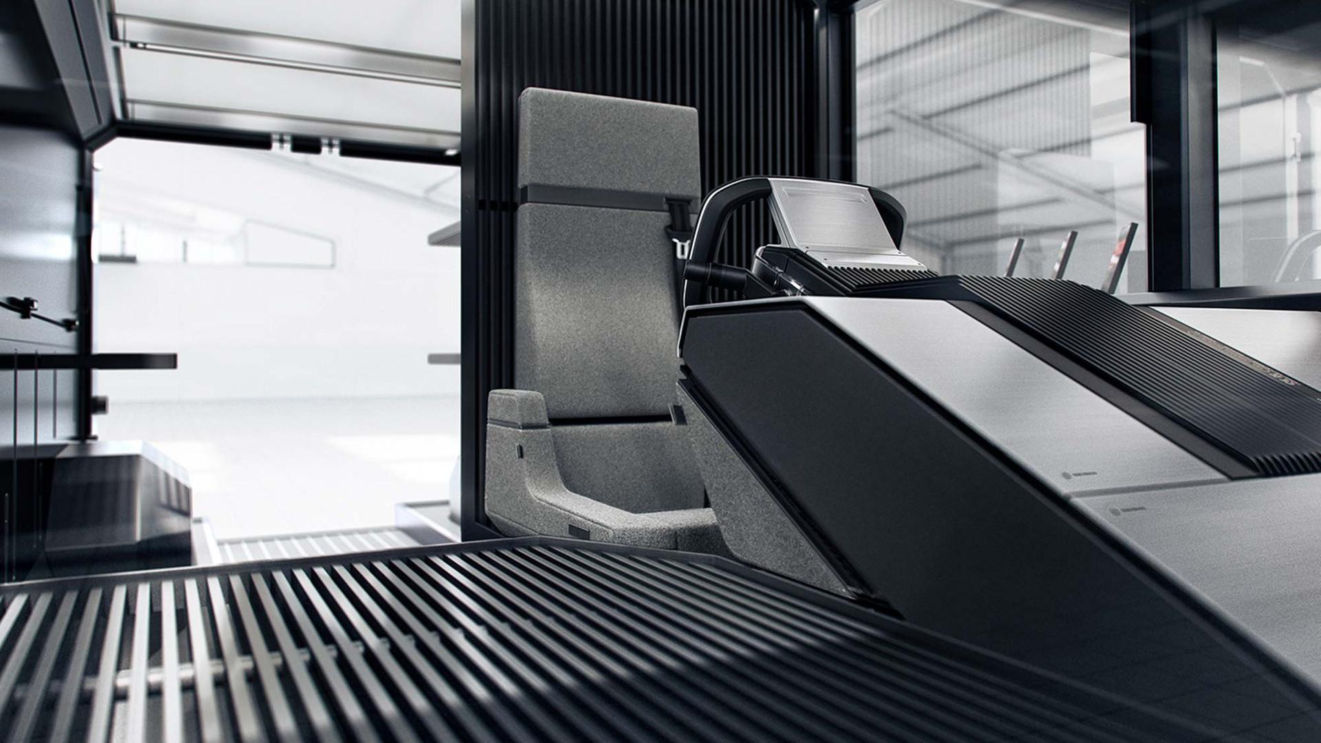 The Canoo multi-purpose delivery vehicle (MPDV) - Interior, Rear View