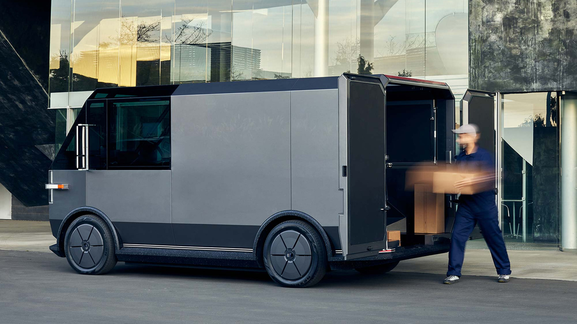 The Canoo multi-purpose delivery vehicle (MPDV) - In Action