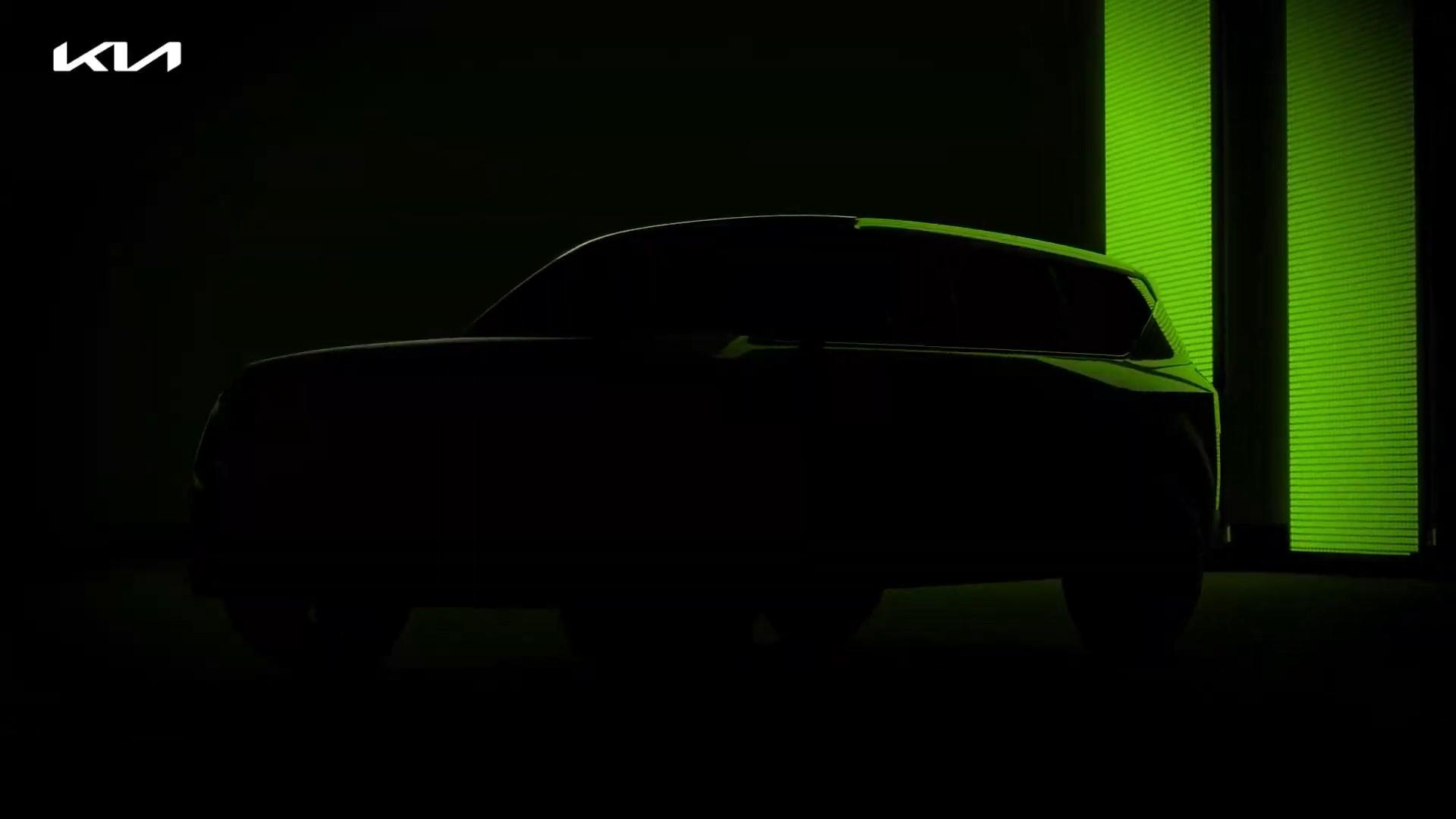 Kia Teaser Green SUV