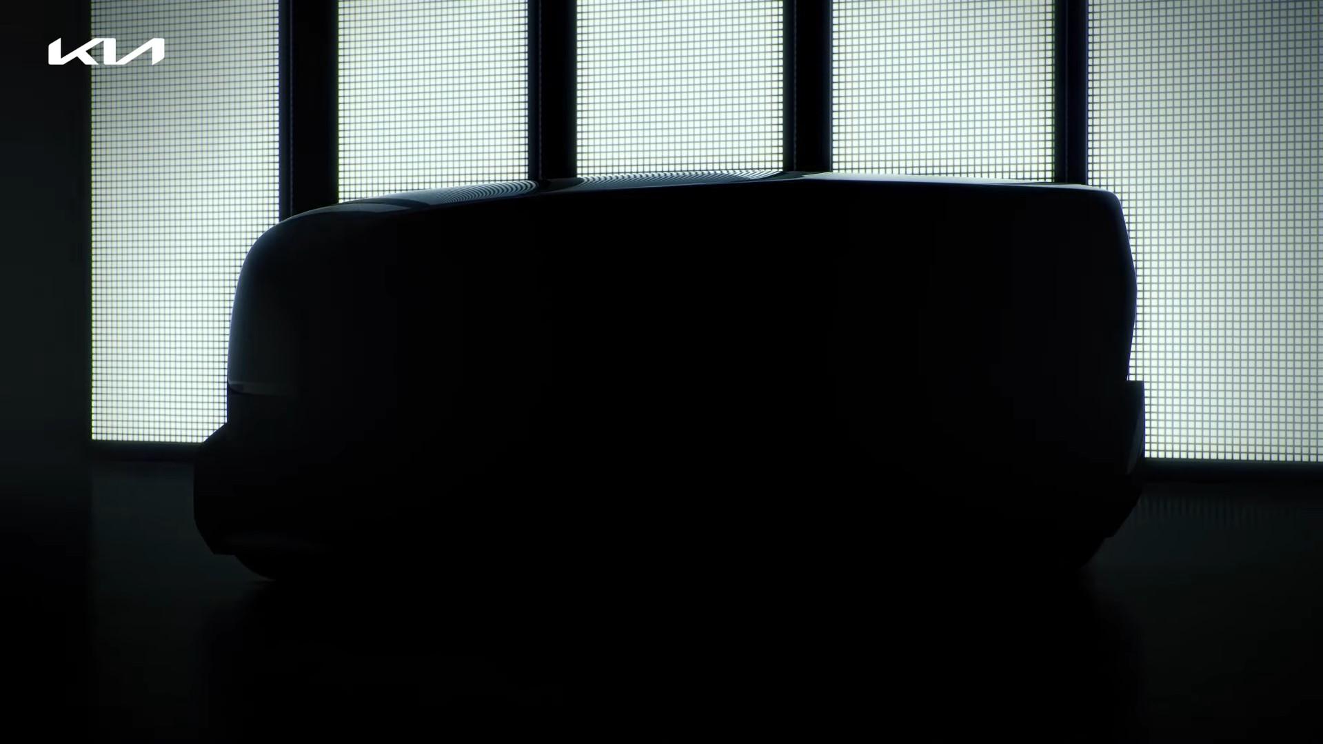 Kia Teaser White SUV Side View