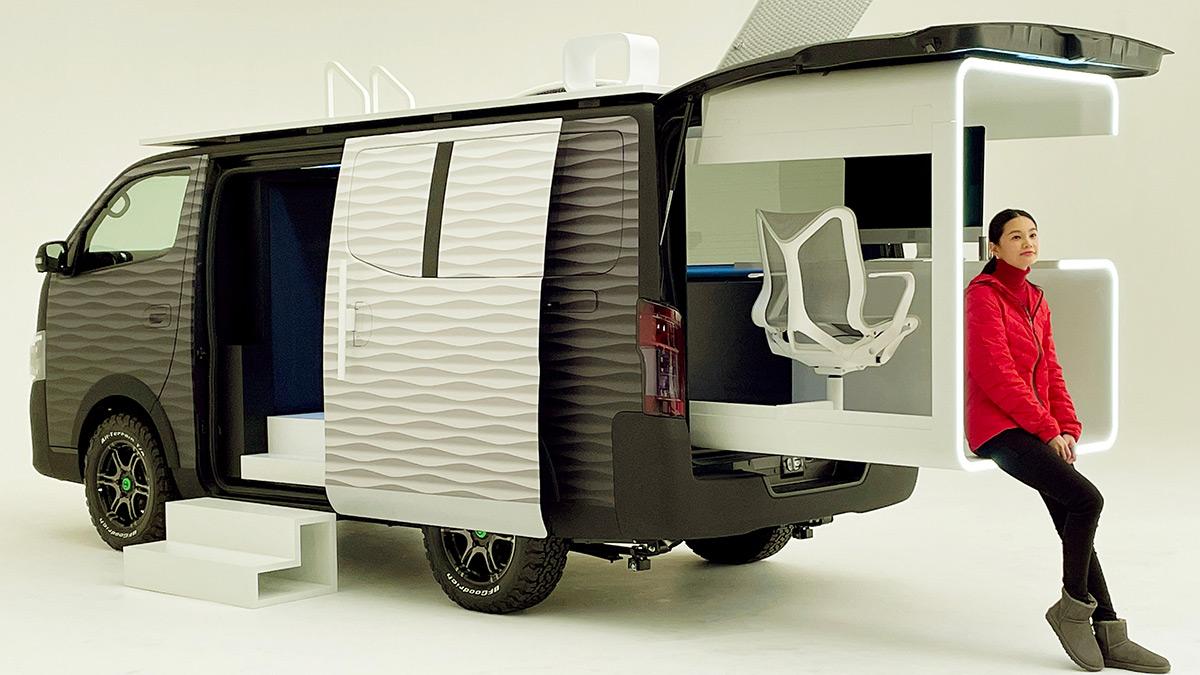 Nissan NV350 Office Pod Concept - Showroom