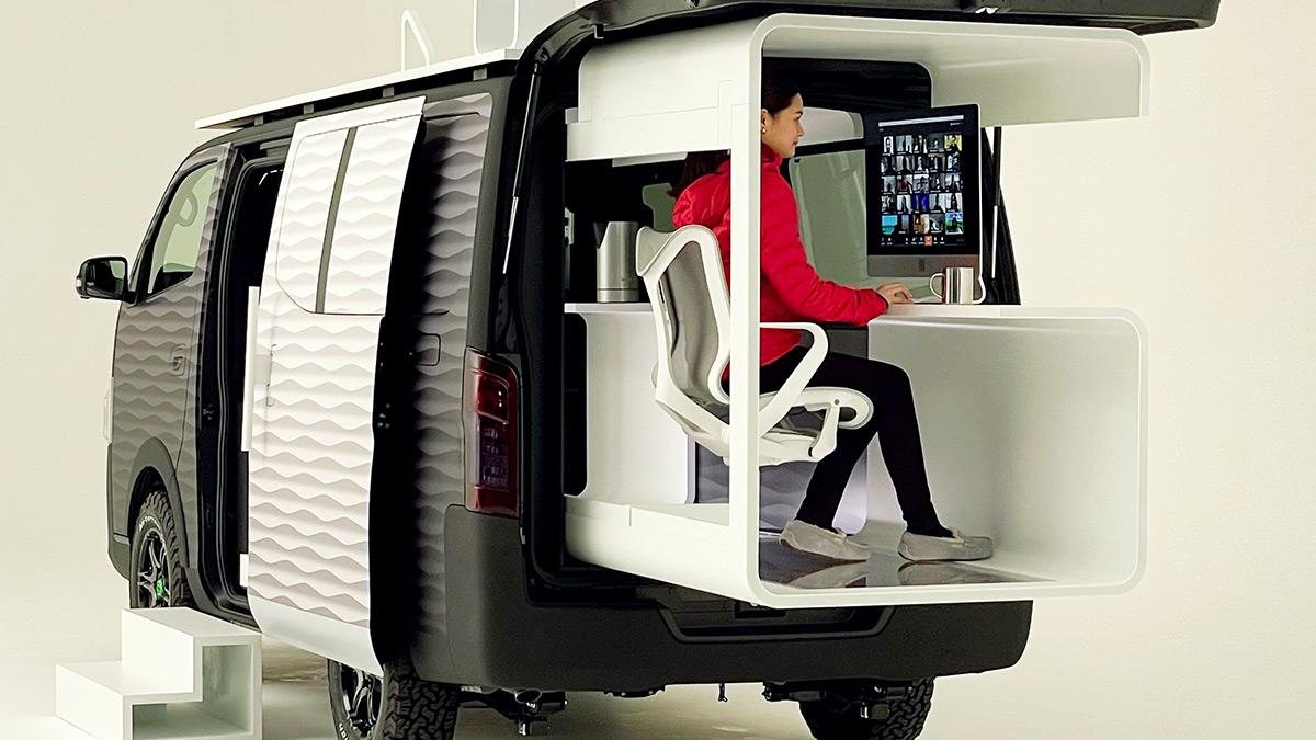 Nissan NV350 Office Pod