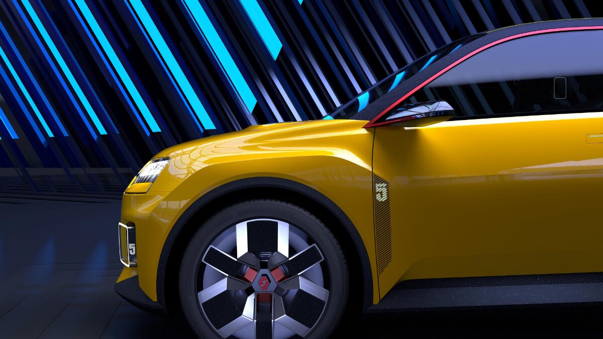 Renault 5 Protpotype - Front Concept
