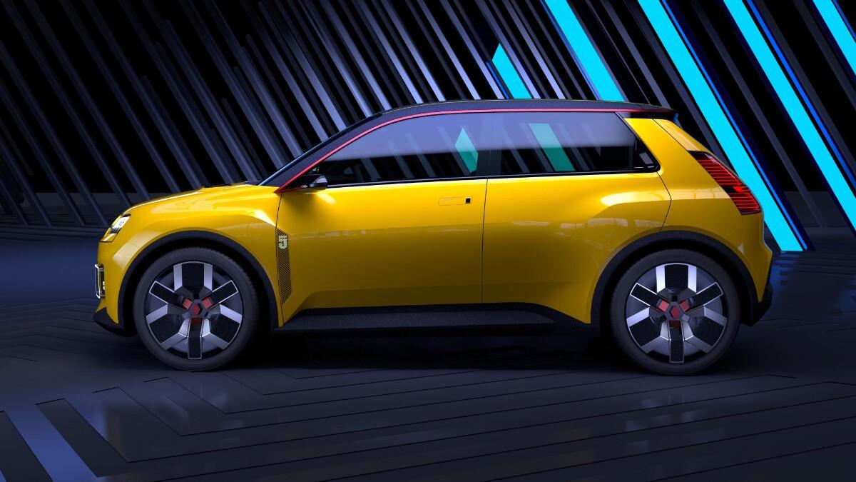 Renault 5 Protpotype - Profile Side
