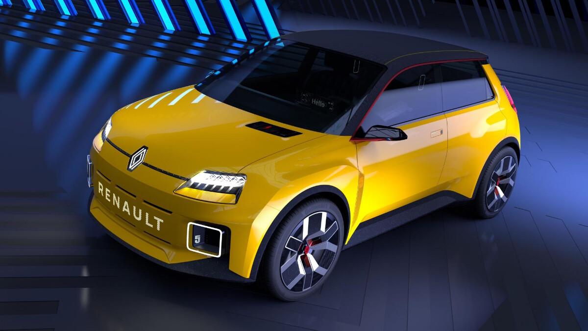 Renault 5 Protpotype - Profile