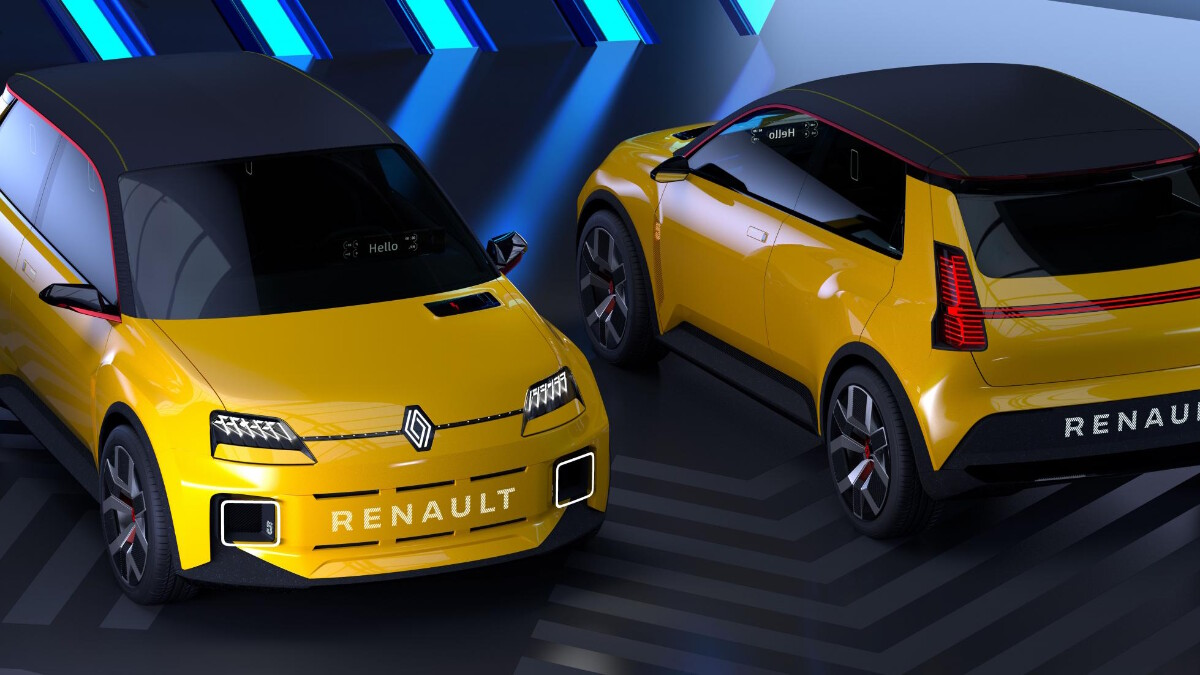 Renault 5 Protpotype - Side by Side