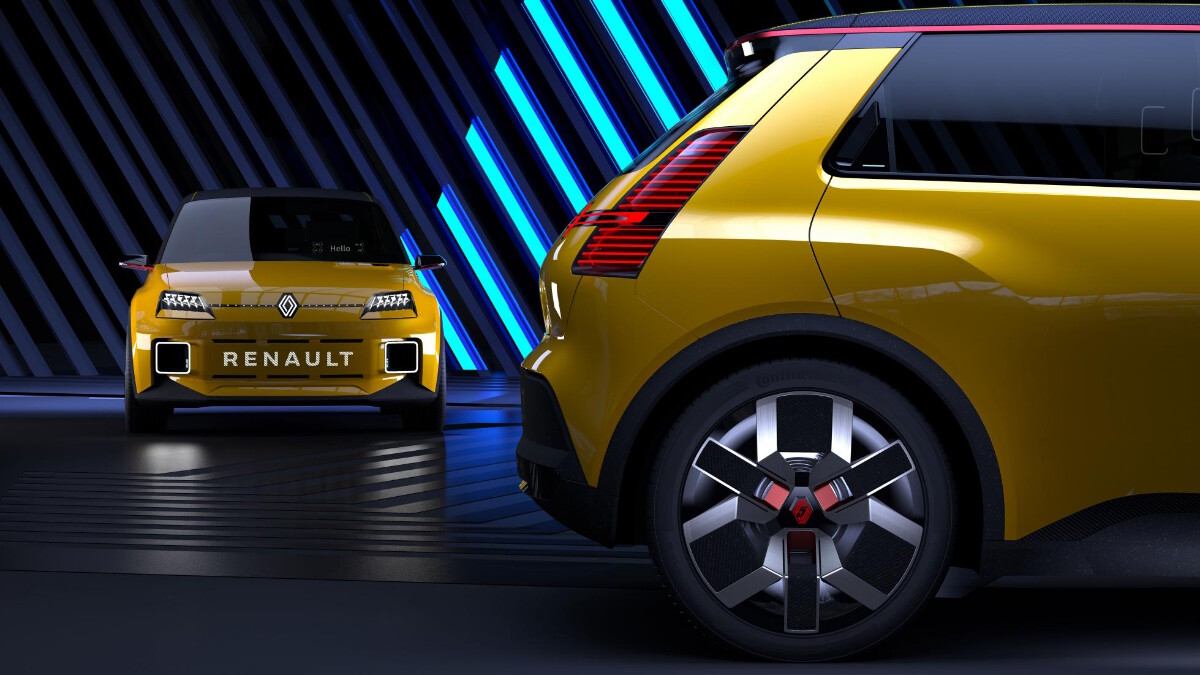 Renault 5 Protpotype - Rear Concept