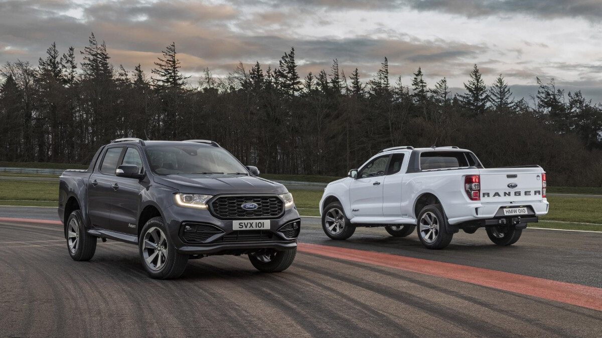 The 2021 Ford Ranger MS-RT - Parked