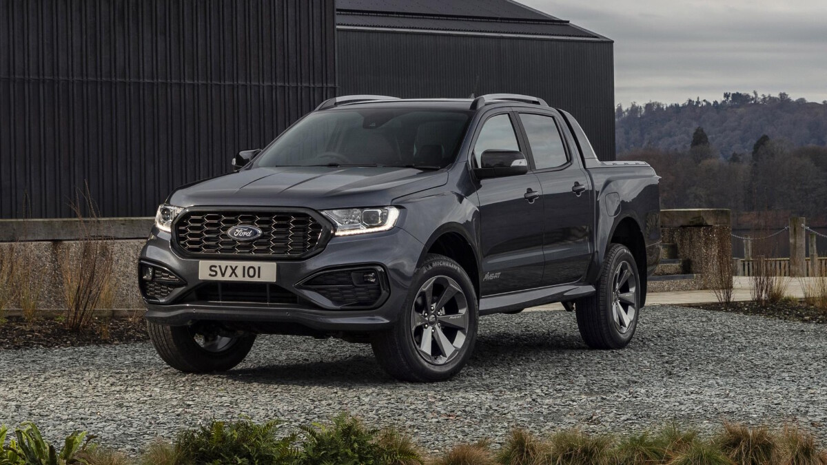 The 2021 Ford Ranger MS-RT - Front Angle