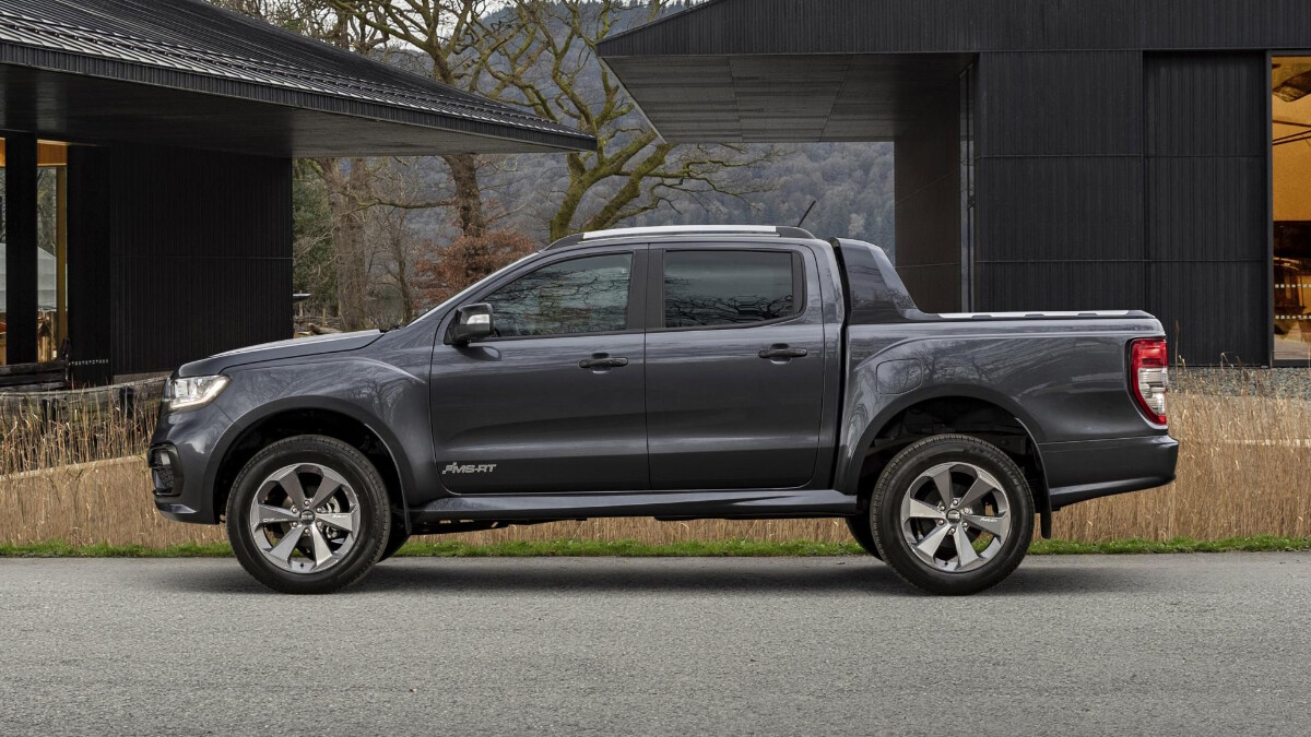The 2021 Ford Ranger MS-RT - Profile