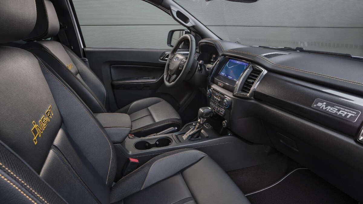 The 2021 Ford Ranger MS-RT - Passenger and Driver's Seat