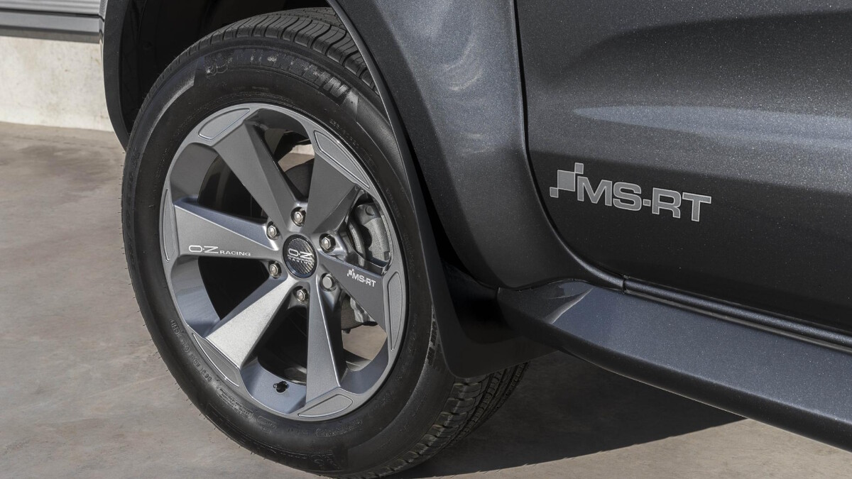 The 2021 Ford Ranger MS-RT - Front Tire
