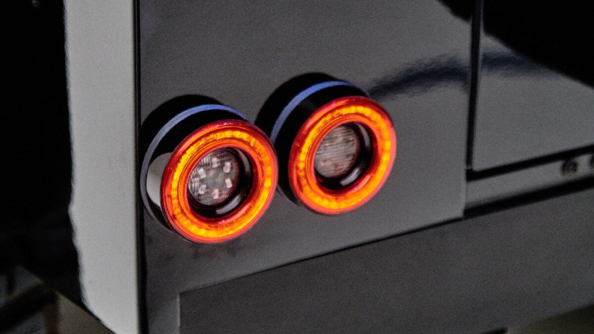 The Land Rover Defender modified by Ares Design - Tail Lights Detail