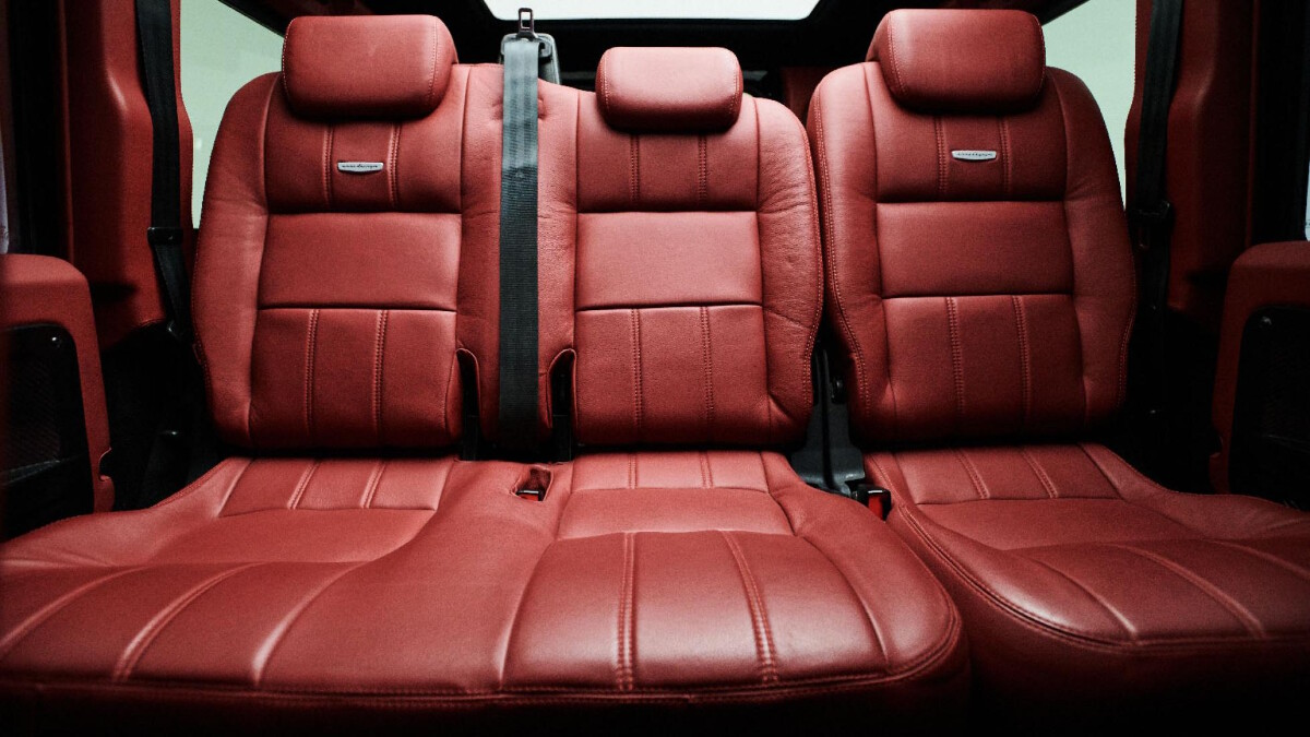 The Land Rover Defender modified by Ares Design - Rear Seats