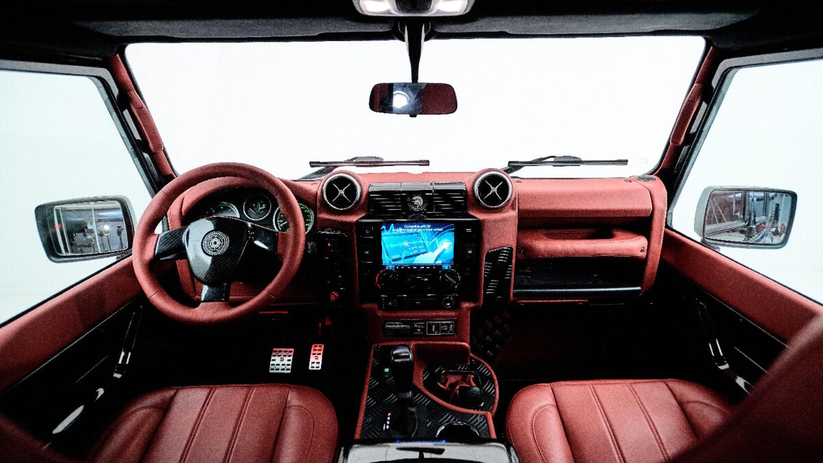 The Land Rover Defender modified by Ares Design - Interior Dashboard
