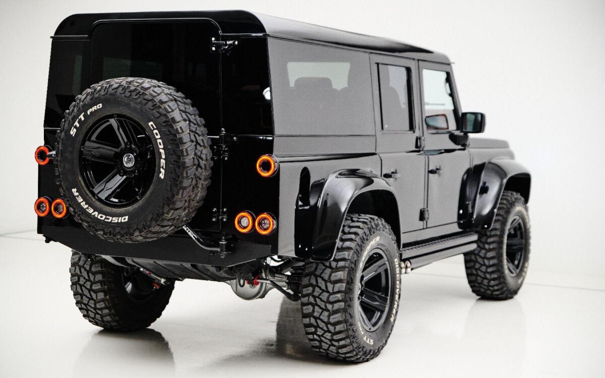 The Land Rover Defender modified by Ares Design - Rear Angle