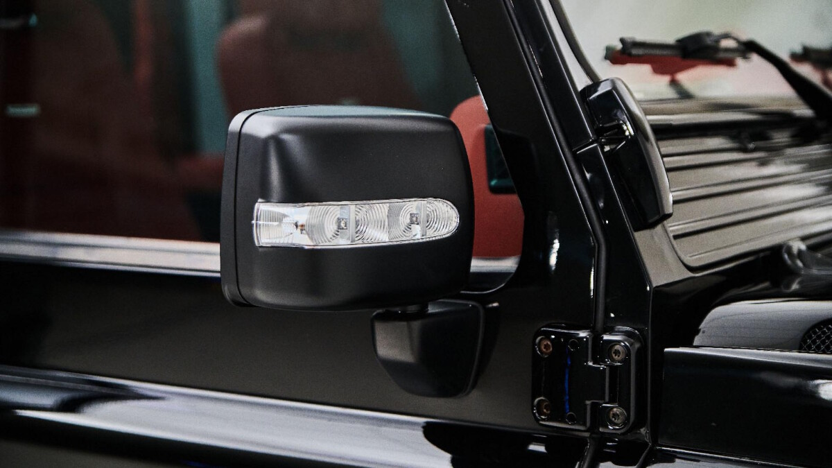 The Land Rover Defender modified by Ares Design - Side Mirror