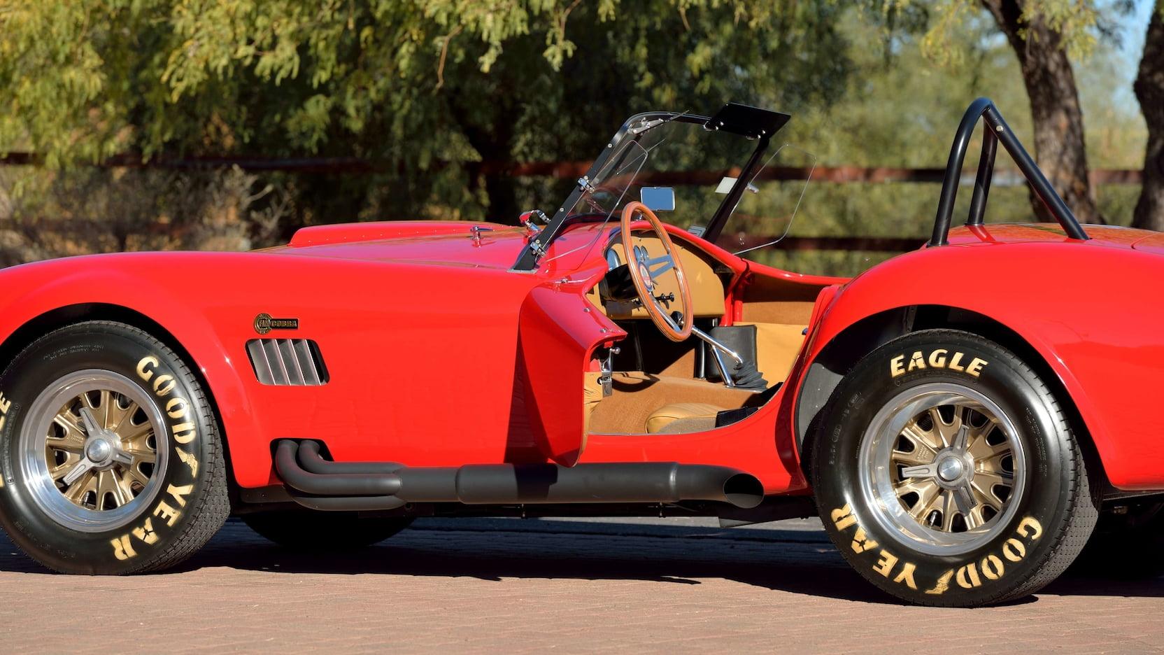Shelby Cobra - Side View, Open Driver's Seat Door