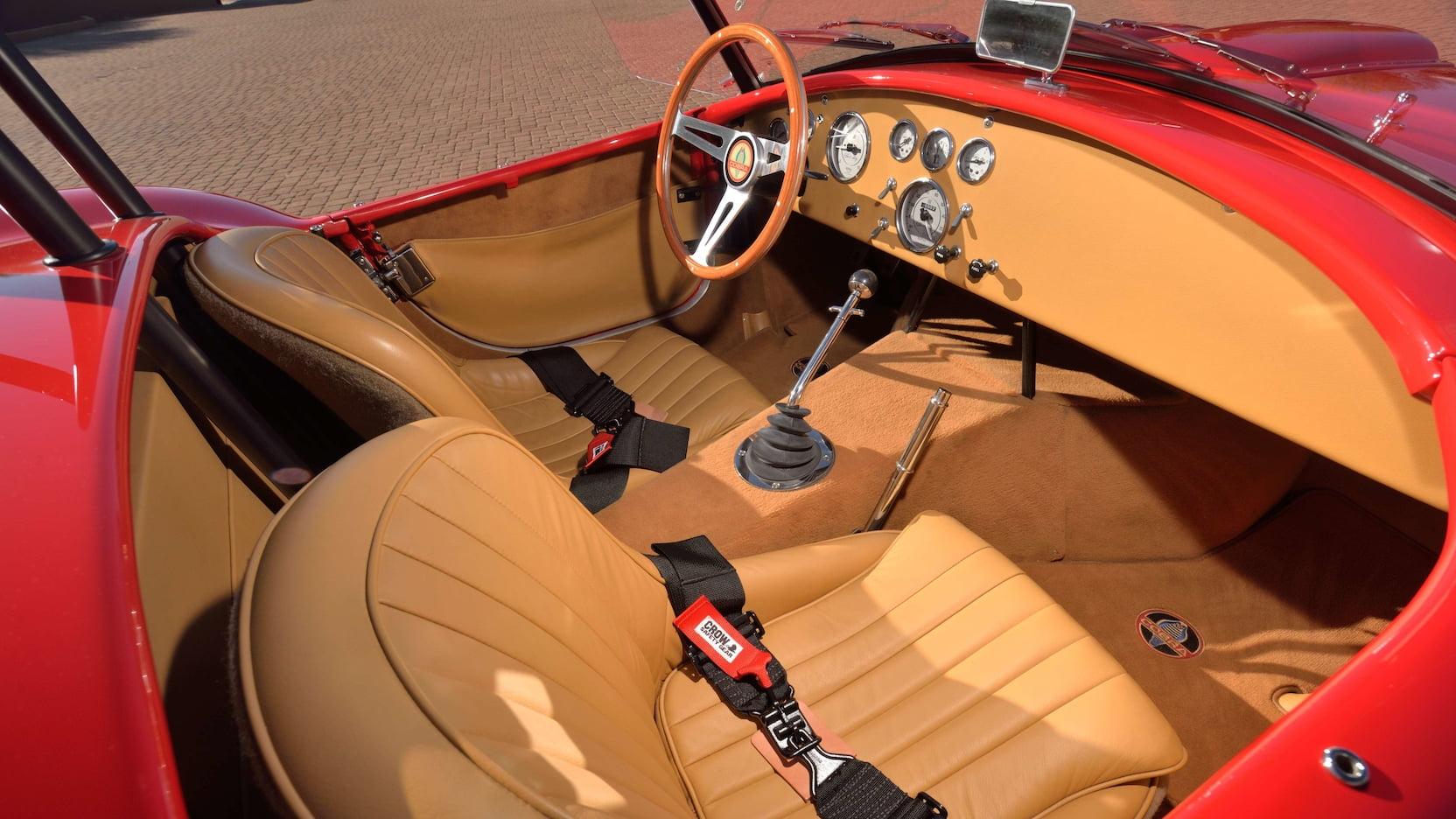 Shelby Cobra - Interior Alternate Angle