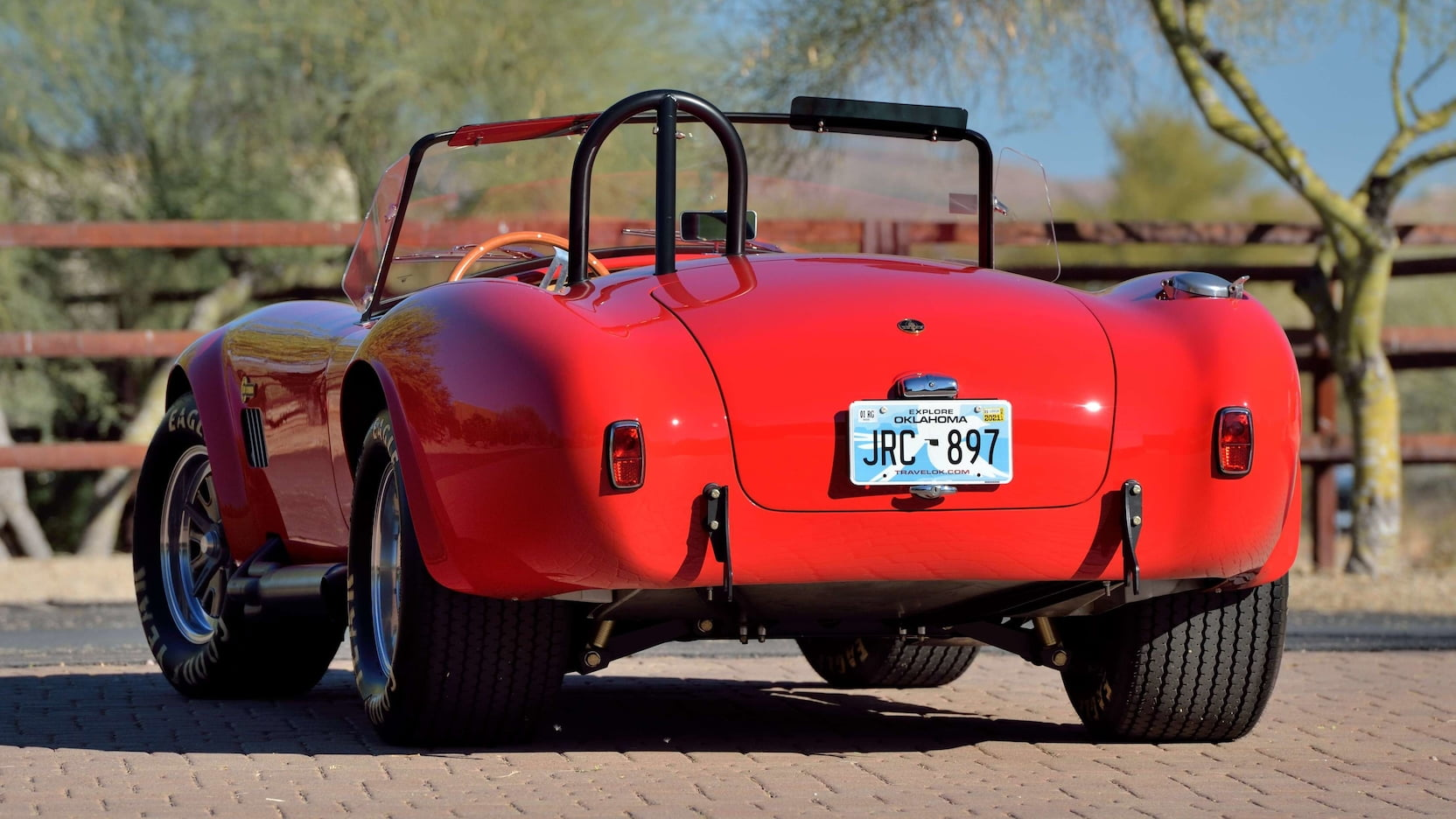 Shelby Cobra - Rear Feature