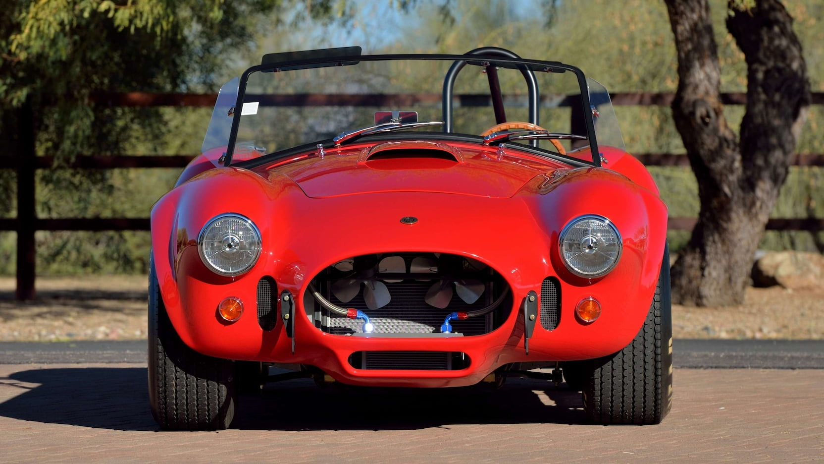 Shelby Cobra - Full Front Feature