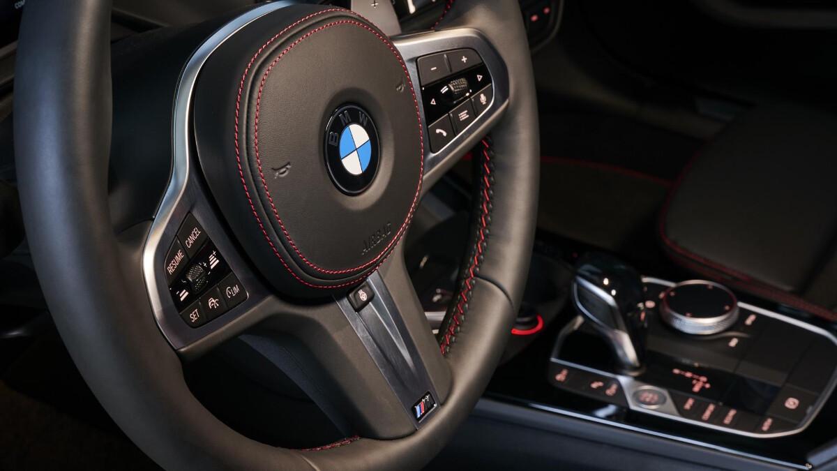 BMW 128ti - Steering Wheel Detail