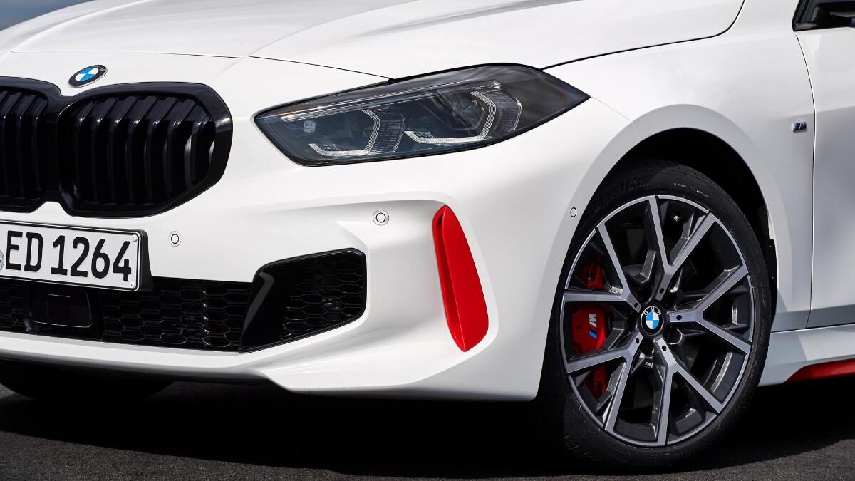 BMW 128ti - Front Detail