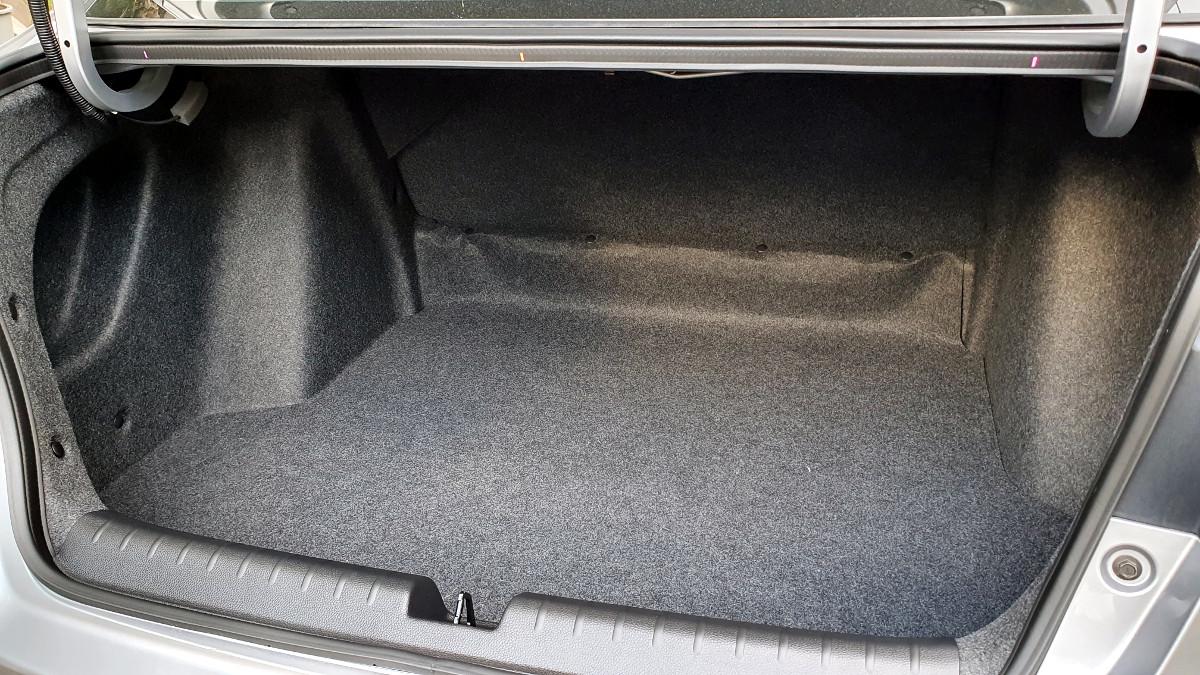 The 2021 Honda City 1.5 S CVT Trunk