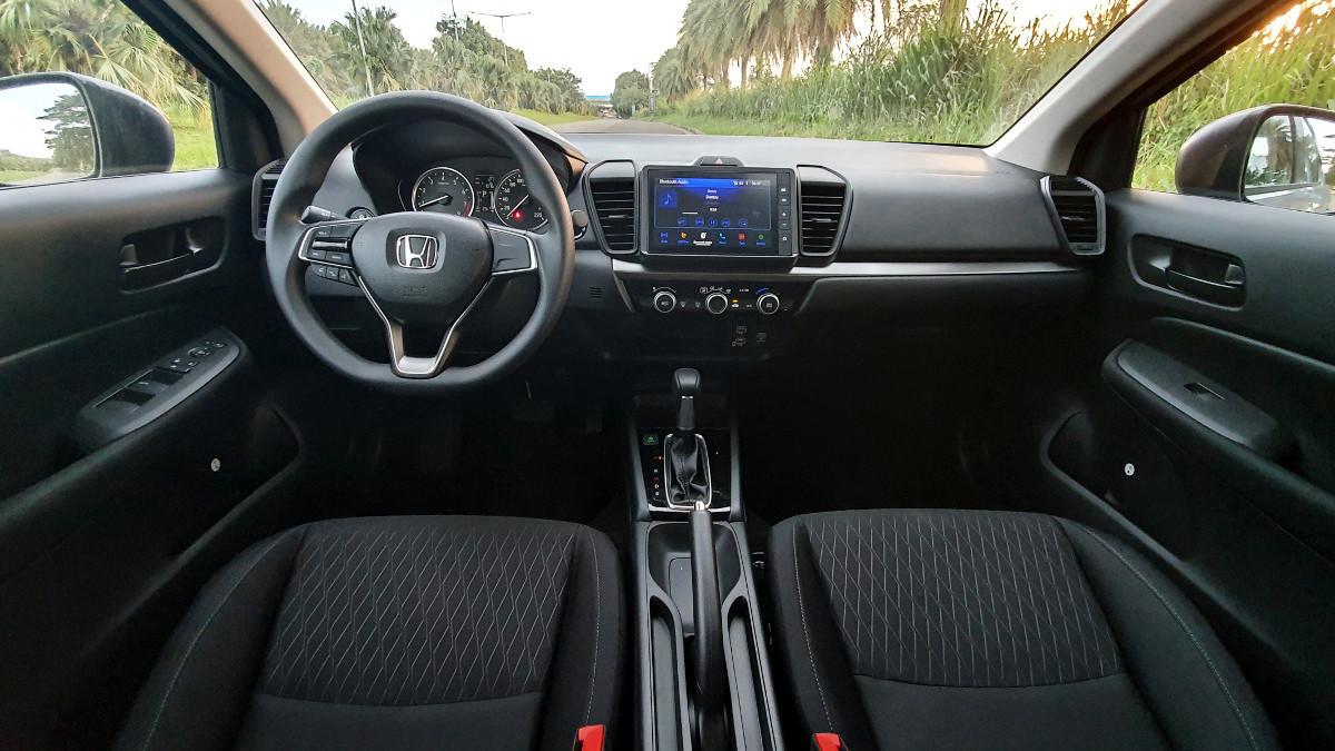 The 2021 Honda City 1.5 S CVT Interior