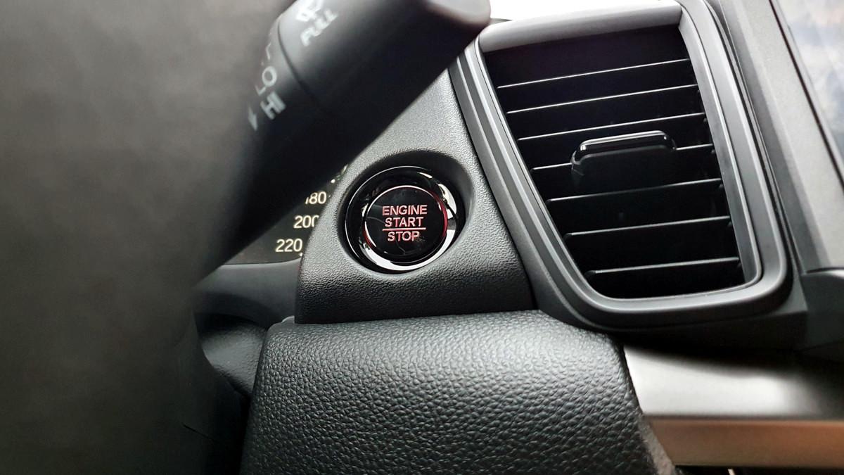 The 2021 Honda City 1.5 S CVT Engine Start Button