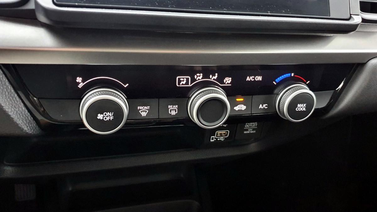 The 2021 Honda City 1.5 S CVT Airconditioning Panel Controls