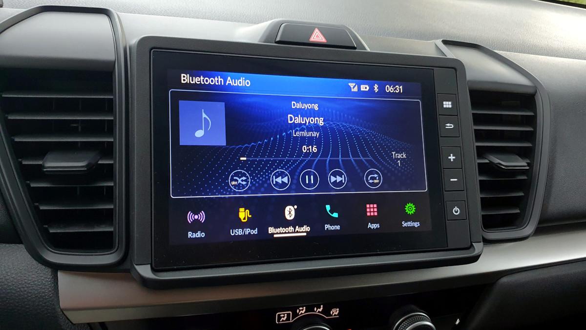 The 2021 Honda City 1.5 S CVT Dashboard Features