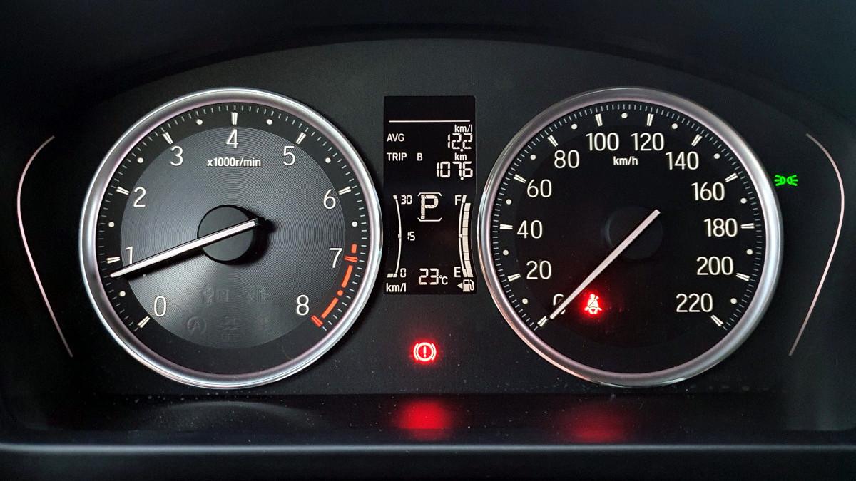 The 2021 Honda City 1.5 S CVT Odometers