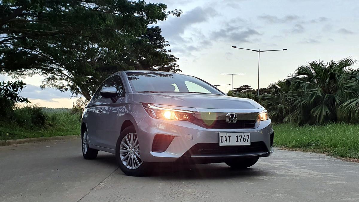 The 2021 Honda City 1.5 S CVT Front View