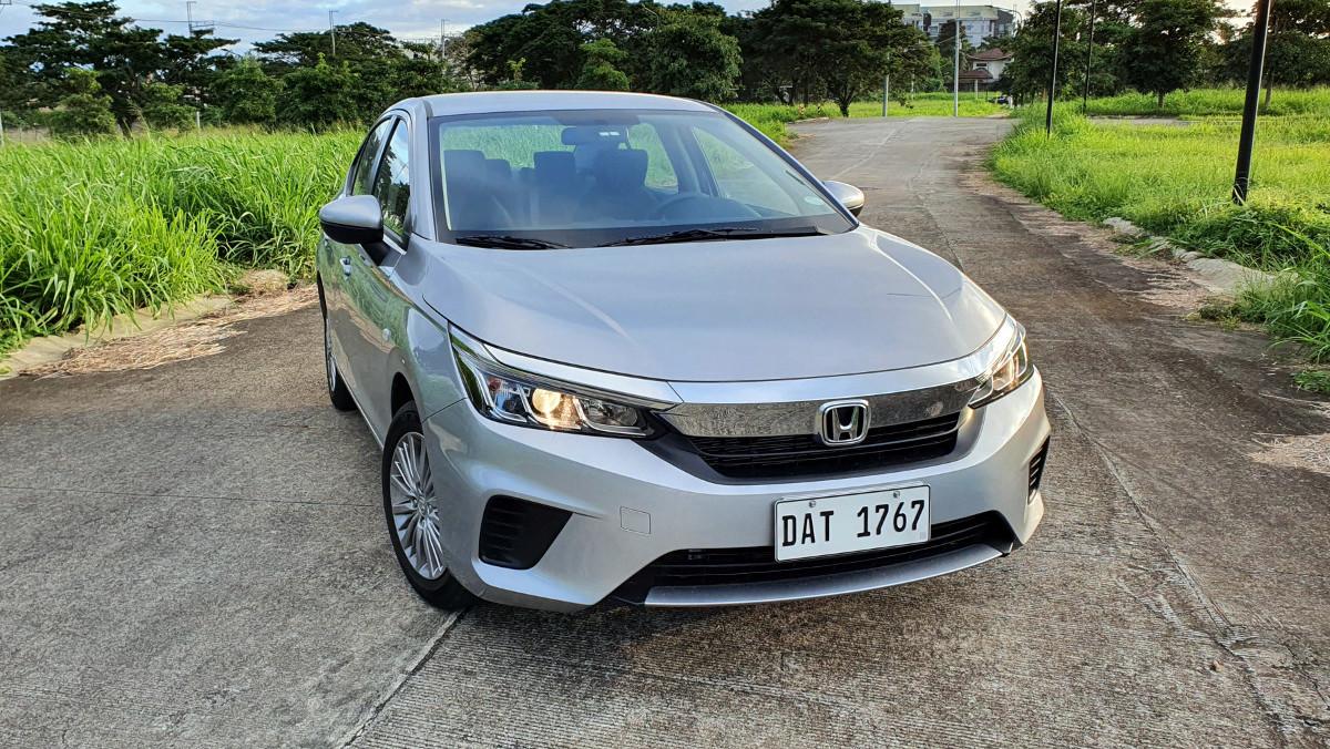 The 2021 Honda City 1.5 S CVT Front Top View