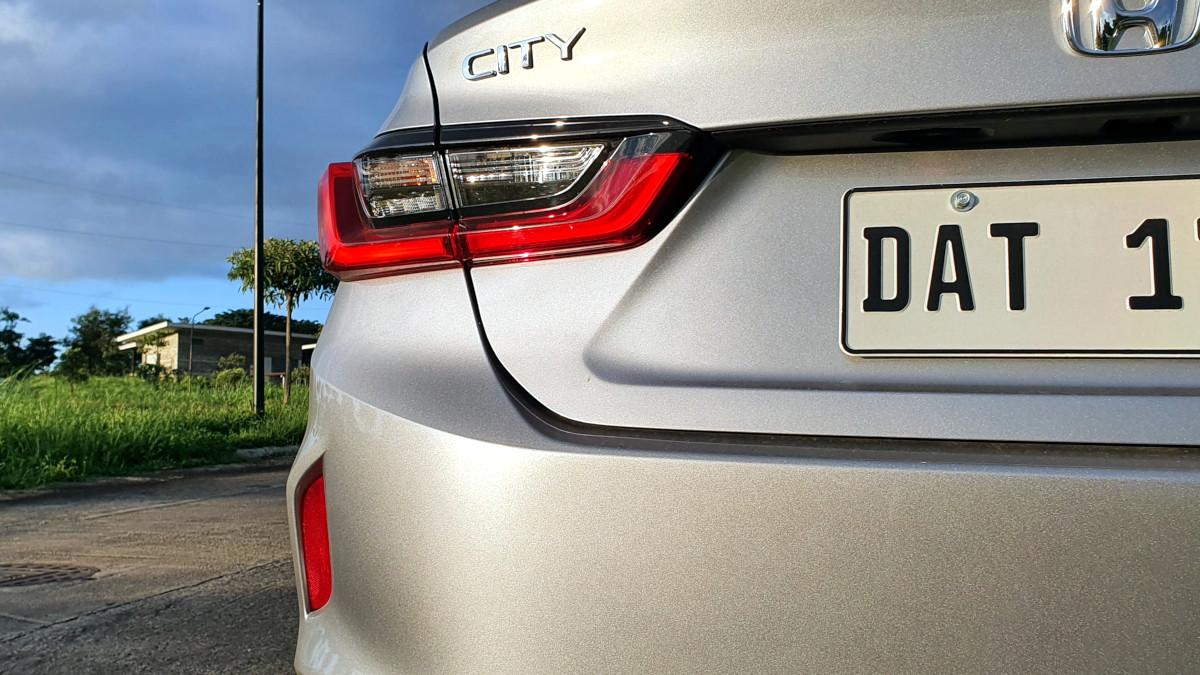 The 2021 Honda City 1.5 S CVT Rear