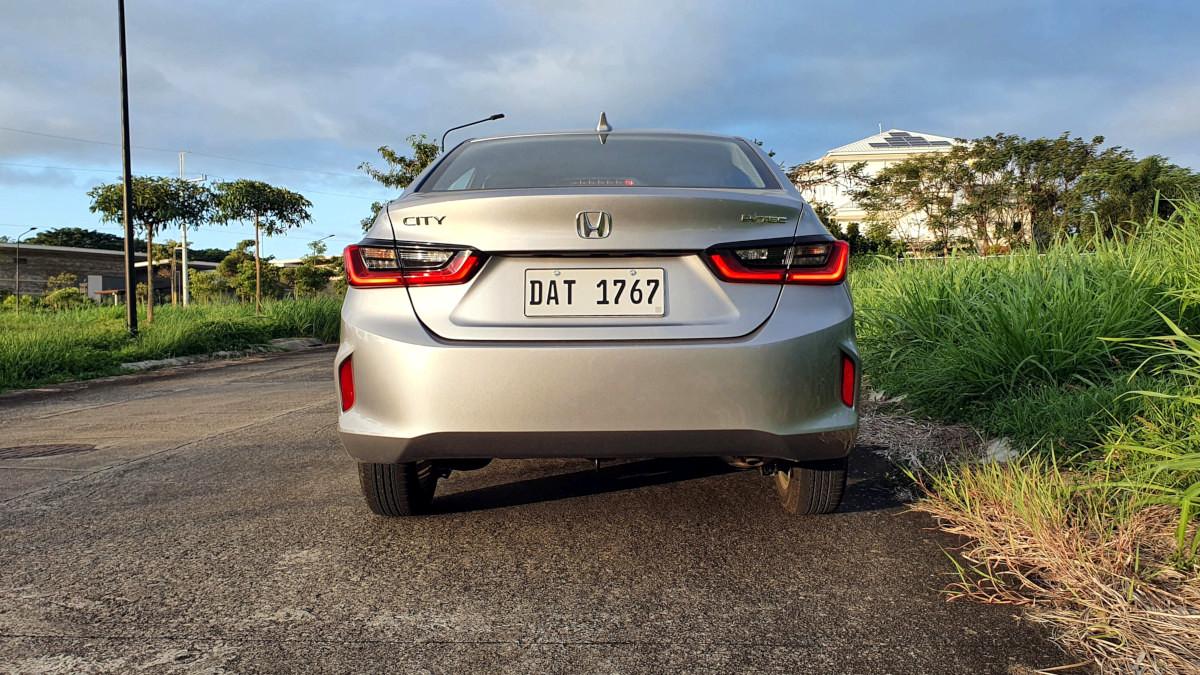 The 2021 Honda City 1.5 S CVT Rear View Parked
