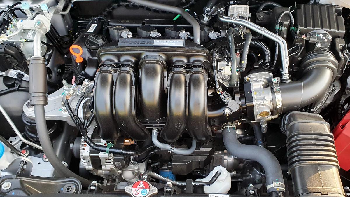 The 2021 Honda City 1.5 S CVT Engine