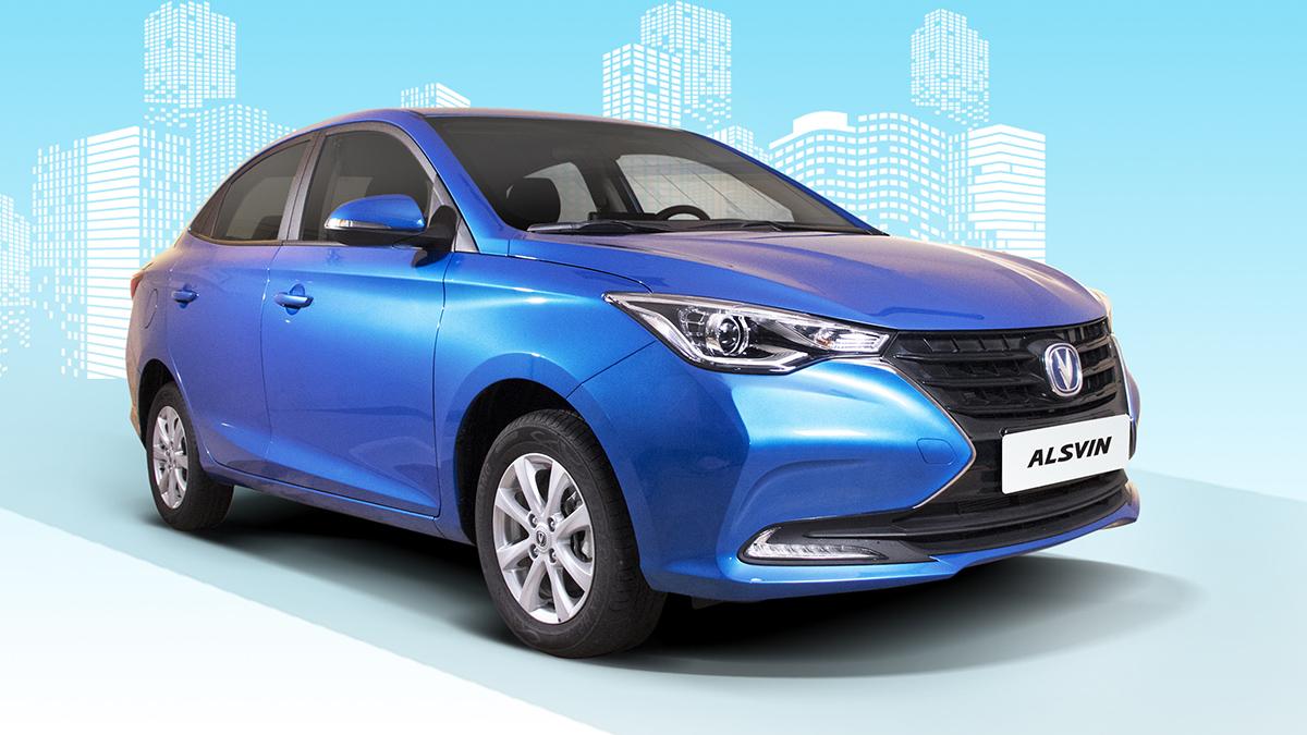 The Changan Motors Alsvin