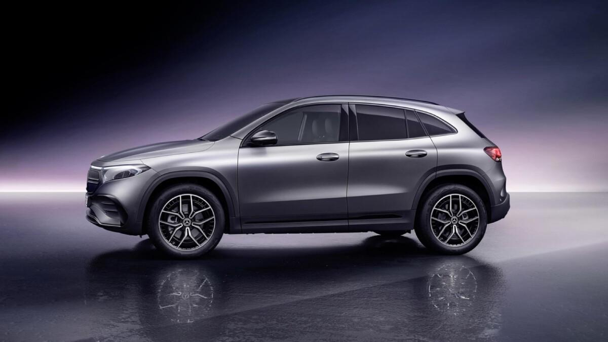The Mercedes-Benz EQA  - Profile