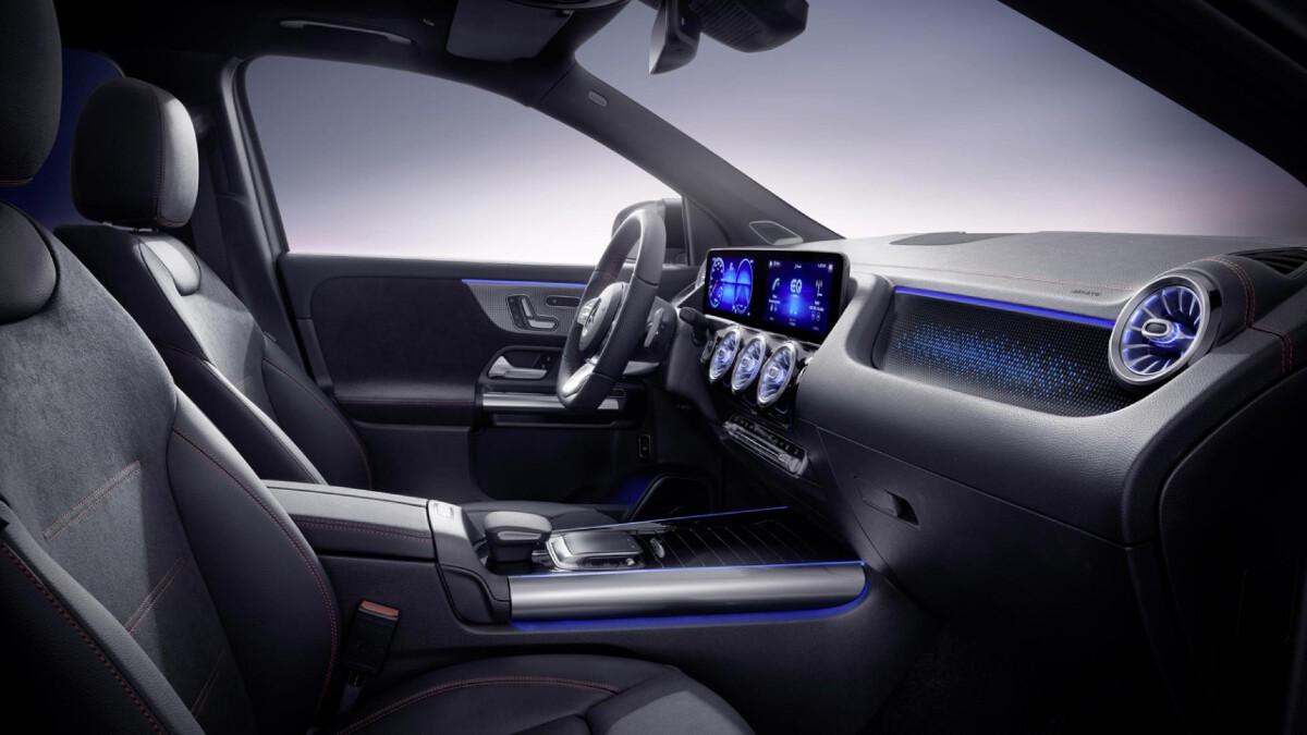 The Mercedes-Benz EQA - Passenger & Driver's Seat